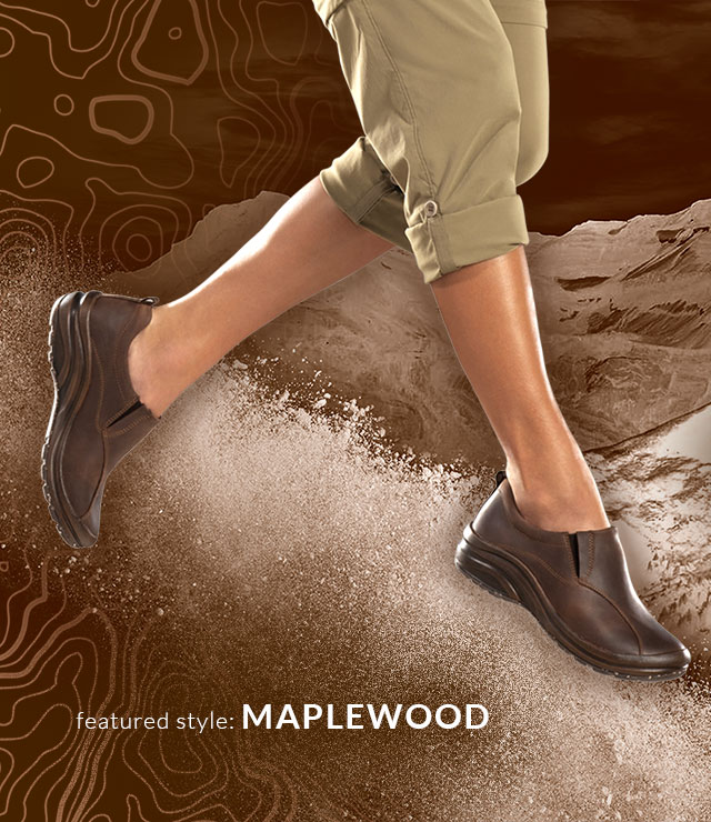 Maplewood in Aztec brown lifestyle